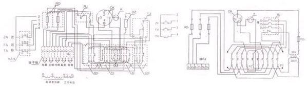 参考:轨道平车控制原理图   用变压器将交流380v的电源电压降至36v,为两相电压,然后分接到两根轨道上,轨道平车通过取电支腿在轨道上取电,将道轨上的交流36V电源引入车载电器箱.   经过整流模块将交流36V整流至直流380V,通过直流控制系统控制直流电机,进而控制平车的启动、停止、前进、后退、调速等。   需绝缘处理轨道,对轨道的铺设有较高的要求,适用于使用频率较高、中长距离运输的场合,但运行距离超过50米,需要增加变压器数量和铜排补偿线来弥补轨道压降。  参考:轨道平车控制原理图   轨道平车总